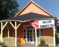 Balatonszentgyörgy eladó felújított kb 80 m2 üzlethelyiség cukrászda ingatlan hirdetéshez feltöltött kép