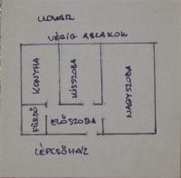 Budapest II. ker Varsányi Irén u eldó újszerû tégla 43m2 1,5 szobás lakás ingatlan hirdetéshez feltöltött kép