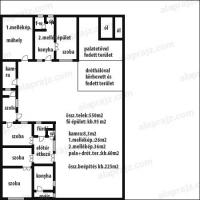 Kecskemét eladó családi ház Rendõrfaluban 95m2 3,5 szobás kandalló ingatlan hirdetéshez feltöltött kép