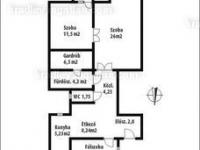 Budapest VII. ker. eladó társasházi lakás 76m2 2+1 szoba keleti küzelében ingatlan hirdetéshez feltöltött kép