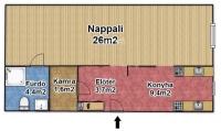 Budapest XIV. ker eladó társasházi lakás 42m2 1 szoba Hungária körút panorámás ingatlan hirdetéshez feltöltött kép