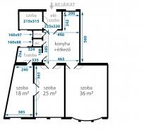 Budapest XII. kerület eladó lakás 116m2 3+1 szoba galériázható 3. emelet liftes ingatlan hirdetéshez feltöltött kép