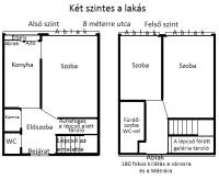 Gyöngyös eladó társasházi lakás 77m2 3 szoba második emeleti felújított ingatlan hirdetéshez feltöltött kép