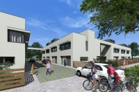 Debrecen eladó 112m2 lakás 3 szoba Fűrész Lakópark napozóterasz ingatlan hirdetéshez feltöltött kép